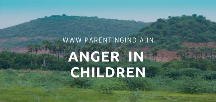 anger in children